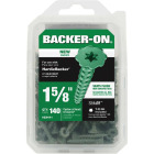 Buildex Backer-On #10 x 1-5/8 In. Cement Board Screw (140 Ct.) Image 2