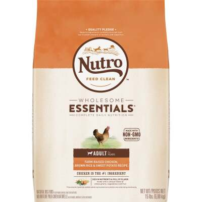 Nutro Wholesome Essentials 13 Lb. Chicken, Brown Rice, & Sweet Potato Adult Dry Dog Food
