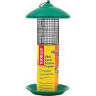 Stokes Select Green Plastic Mini Screen Tube Bird Feeder Image 1