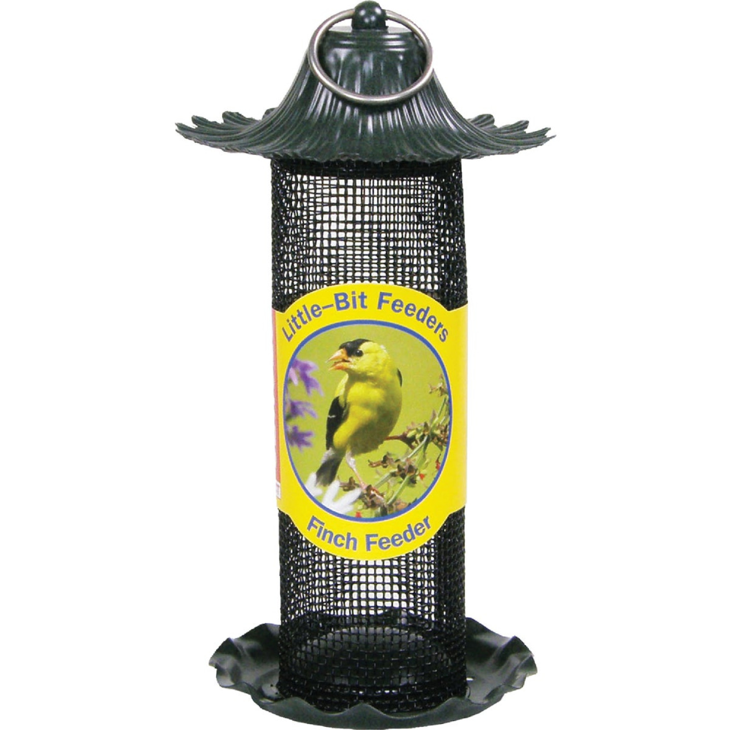 Stokes Select Little-Bit 9 In. 1/2 Lb. Capacity Finch Thistle Screen Feeder Image 2