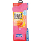 Heat Holders Women's 5 to 9 Pink Thermal Sock Image 2