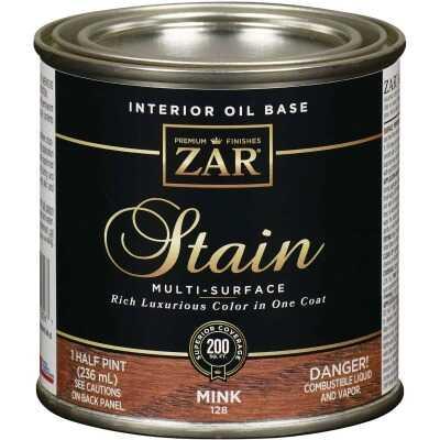 ZAR Oil-Based Wood Stain, Mink, 1/2 Pt.