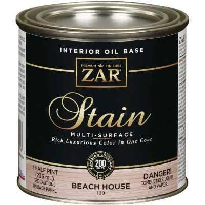 ZAR Oil-Based Wood Stain, Beach House, 1/2 Pt.