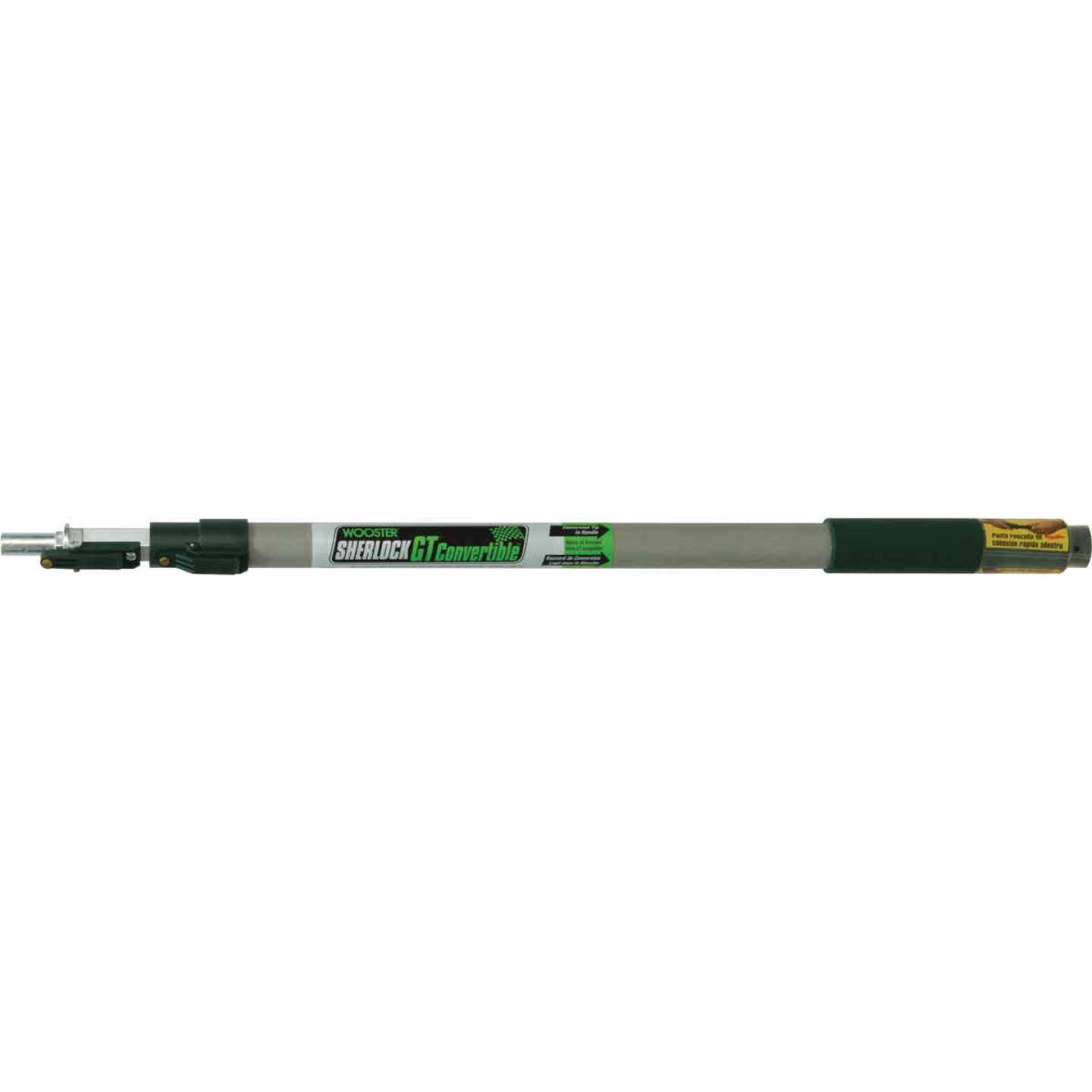 Wooster Sherlock GT 2 Ft. To 4 Ft. Convertible Extension Pole Image 1