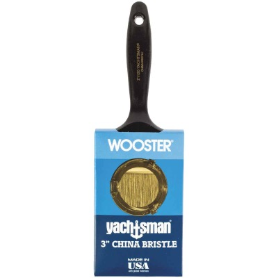Wooster Yachtsman Varnish 3 In. Flat Paint Brush