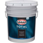 Glidden Total Interior Paint + Primer Semi-Gloss White & Pastel Base 5 Gallon Pail Image 1