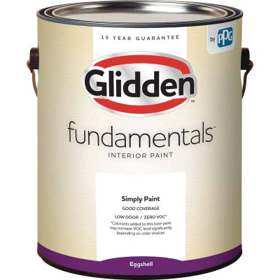 Glidden Fundamentals Interior Paint Eggshell Midtone Base 1 Gallon