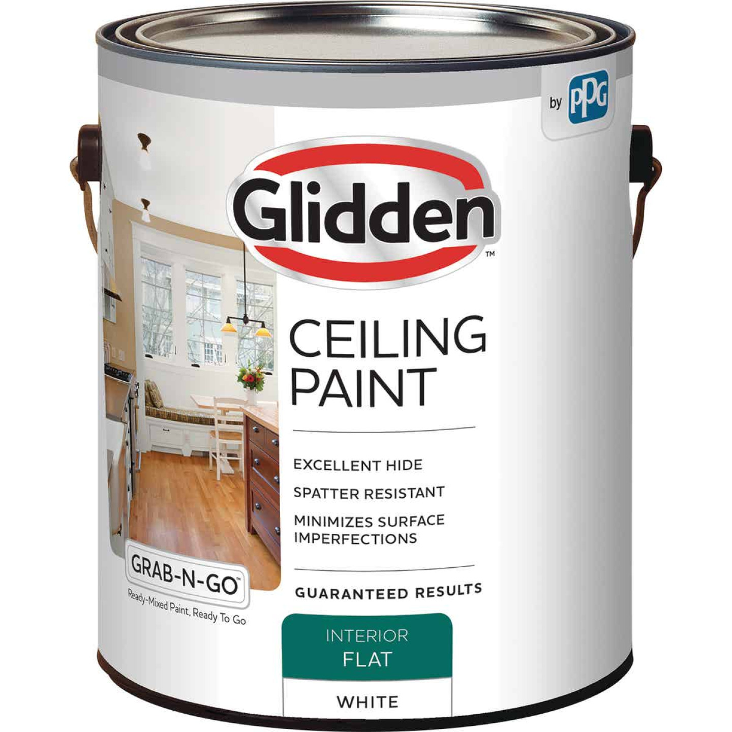 Glidden 1 Gal. Interior Flat Ceiling Paint Image 1