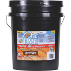 One TIME Chestnut Wood Preservative, Protector & Stain All In One, 5 Gal. Image 1
