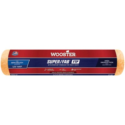 Wooster Super/Fab FTP 14 In. x 1/2 In. Knit Fabric Roller Cover
