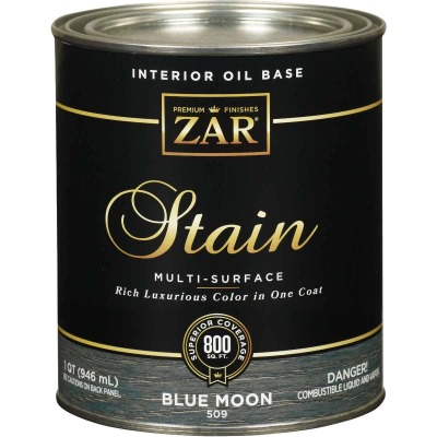 Zar 1 Qt. Blue Moon Oil-Based Multi-Surface Interior Stain