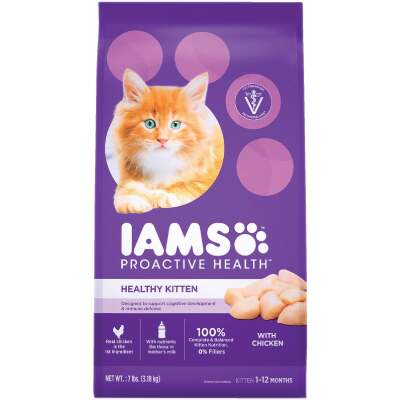 Iams Proactive Health 7 Lb. Chicken Flavor Dry Kitten Food