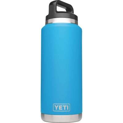 Yeti Rambler 36 Oz. Tahoe Blue Stainless Steel Insulated Vacuum Bottle