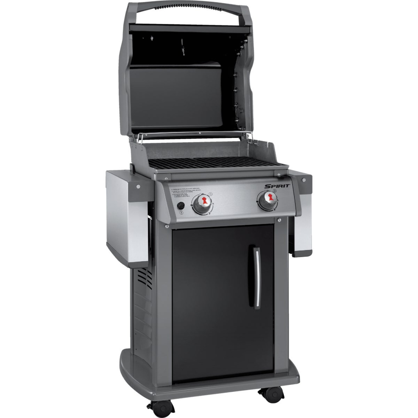 Weber Spirit E-210 2-Burner Black 26,500-BTU LP Gas Grill Image 5