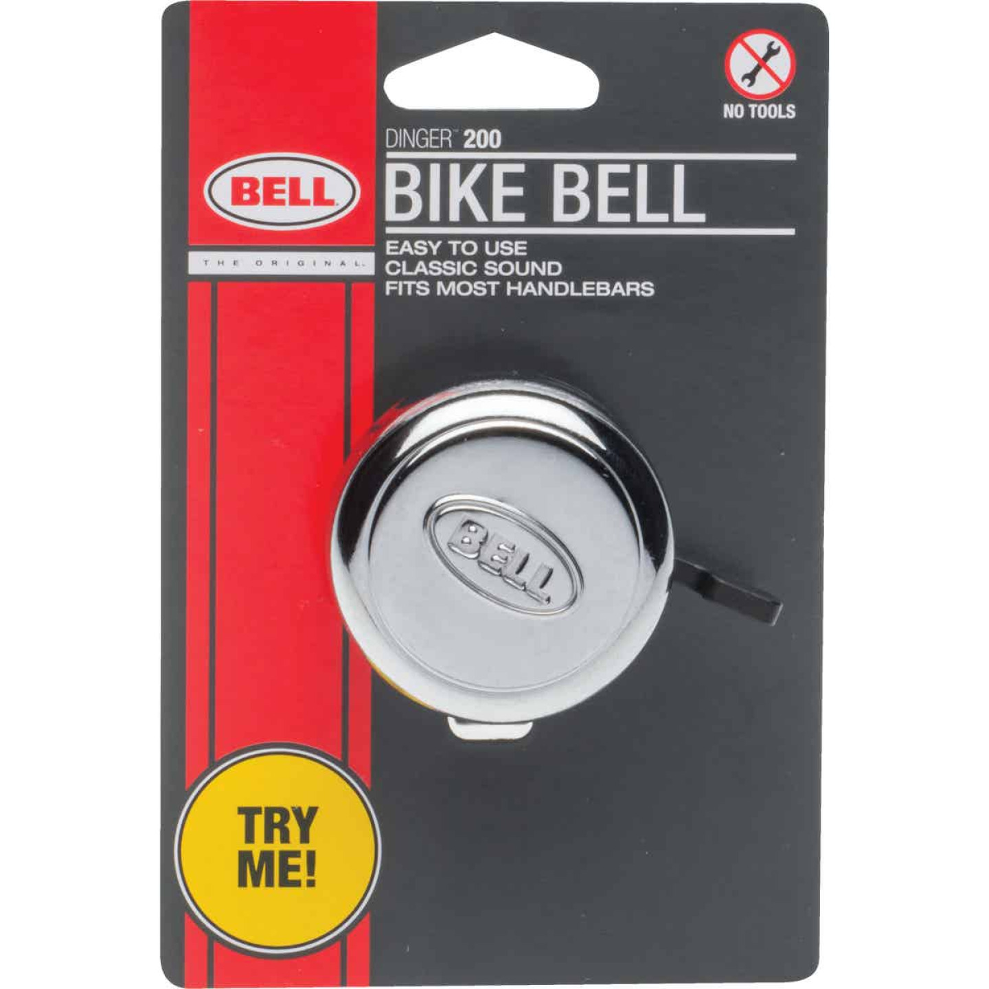 Bell Sports Chrome-Plated Bicycle Bell Image 1
