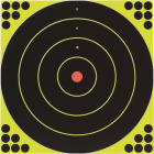 Birchwood Casey Shoot-N-C 12-Inch Sighting Adhesive Paper Bulls-Eye Target Image 1